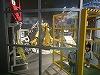 ロボットアームのデモ